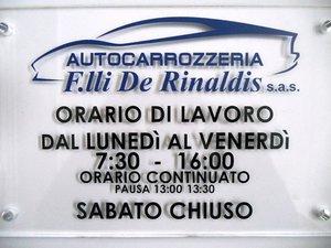 Autocarrozzeria F.lli De Rinaldis s.a.s.