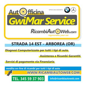 AUTOFFICINA GWIMAR SERVICE di Slawomir Gwizdon - Autofficina Arborea