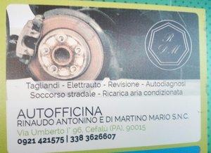 Autofficina - Rinaudo Antonino e Di Martino Mario S.N.C.