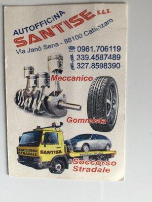 Autofficina Soccorso Stradale H24 Santise Catanzaro