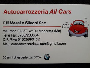 Autocarrozzeria All Cars