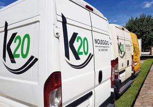 K20 - Noleggio Furgoni e Auto, Spoiler, Carrozzeria, Vendita Usato
